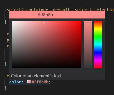 seleccionar color